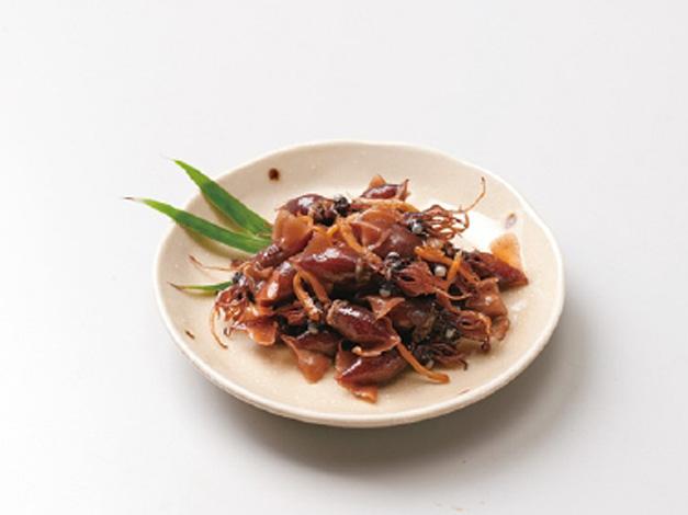 日本海名産ほたるいか生姜煮