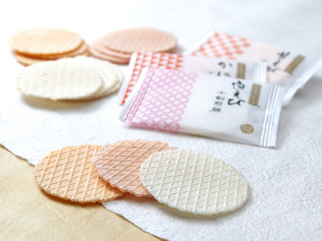 海煎堂 白えび・かに十割煎餅(袋)